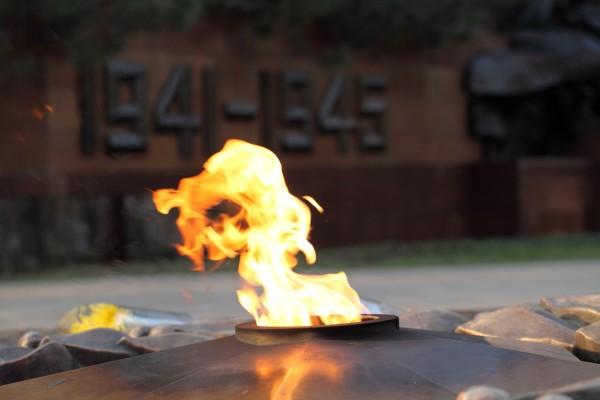 В Омске погас Вечный огонь