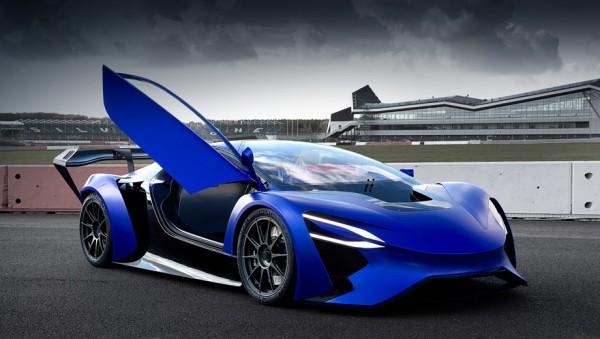 Techrules представила в Женеве гибридный суперкар с шестью моторами