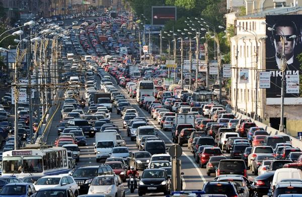 Ограничение движения в центре Москвы продлится до 25 апреля