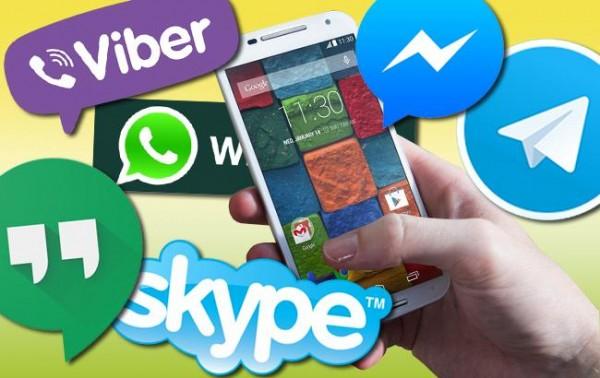 Наиболее популярными мессенджерами в России стали «ВКонтакте», Viber и WhatsApp