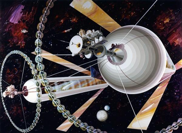 Анонсирован проект орбитальной космической колонии на 10 миллионов человек
