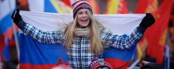 86% россиян считают свою страну одной из самых влиятельных в мире