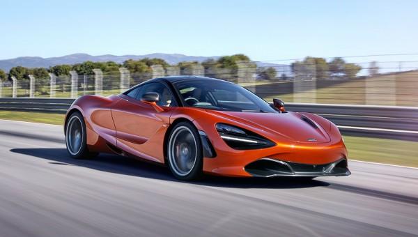 Оформление нового McLaren 720S можно персонализировать онлайн