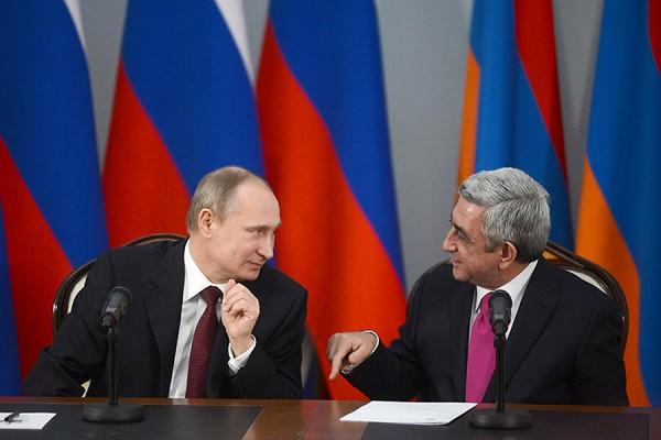Путин: Россия инвестировала в Армению более трех миллиардов долларов