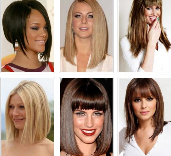 Женские стрижки средние волосы 2017-2018