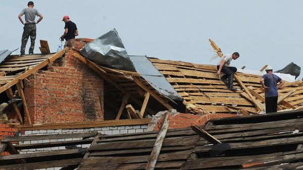 На Грузию обрушился сильный ураган