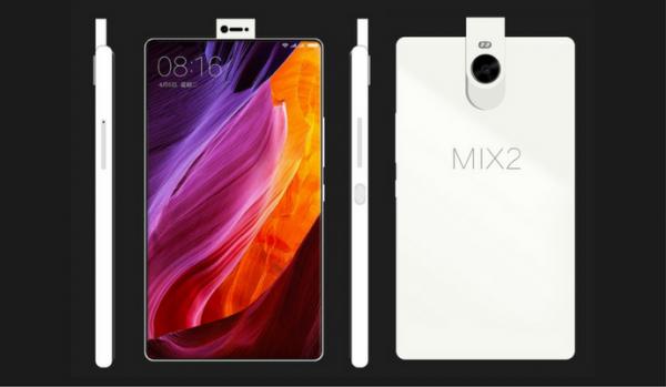 В Сети появились снимки Xiaomi Mi Mix 2 с выдвижной камерой