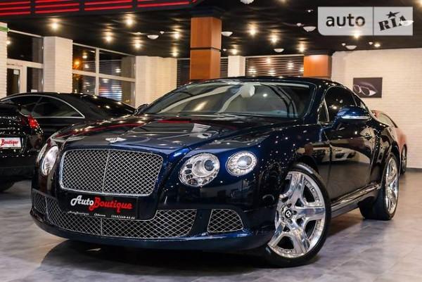 Австралийский рынок увидит Bentley Continental