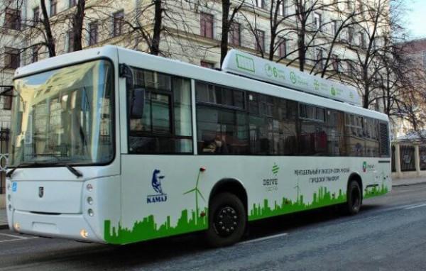 Новый электробус от КАМАЗ представлен в Подольске