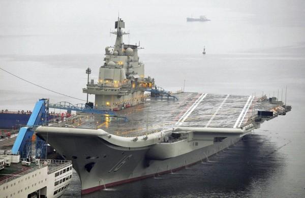 В Китае новый авианосец сойдет на воду в апреле