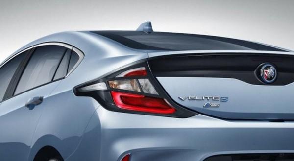 Хэтчбек Buick Velite 5 дебютирует в апреле на автосалоне в Шанхае