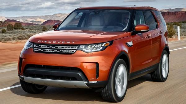 В России новый Land Rover Discovery доступен для заказов на выгодных условиях