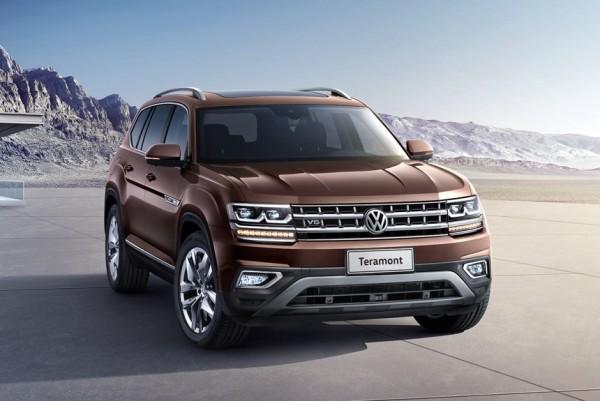 Большой внедорожник Volkswagen Teramont начинает покорять рынок