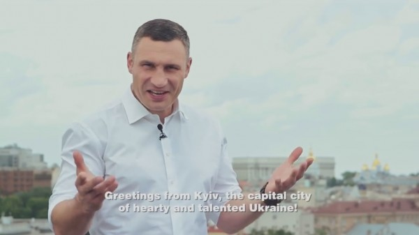В соцсетях высмеяли мэра Киева Кличко, презентовавшего город к