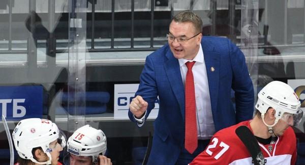 Тренер «Витязя» продлил контракт с клубом на два года