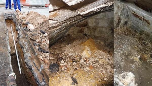 Археологи нашли «слух» в Китайгородской стене Москвы