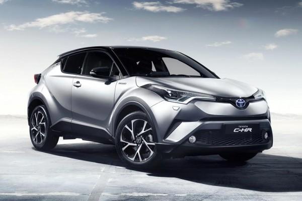 Toyota C-HR признан самым безопасным гибридом по версии EuroNCAP
