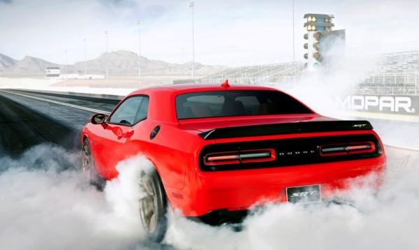 Новый Dodge Challenger Demon получит прибавку в мощности за счет охлаждения воздуха