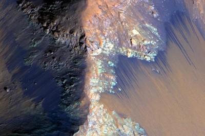 NASA поделились фактами о Марсе