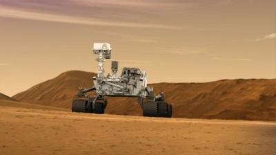Уфолог: Curiosity зафиксировал на Марсе похожую на ящерицу аномалию
