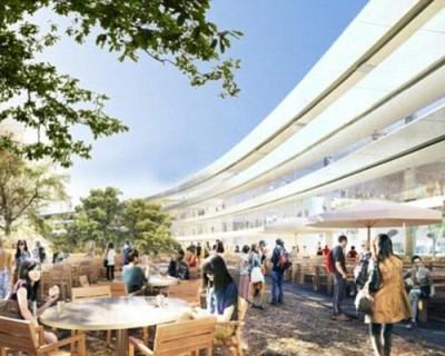 В интернете появились первые фотографии «космического центра» от Apple