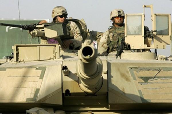 Американские танки замечены в700км от столицы
