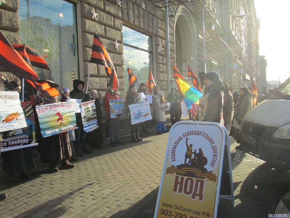 Суд 17апреля рассмотрит дело Дадина, схваченного  за единый  пикет в российской столице