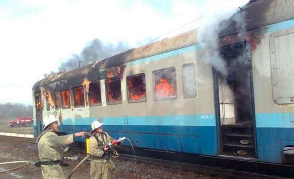 ВТверской области впожаре впоезде умер мужчина
