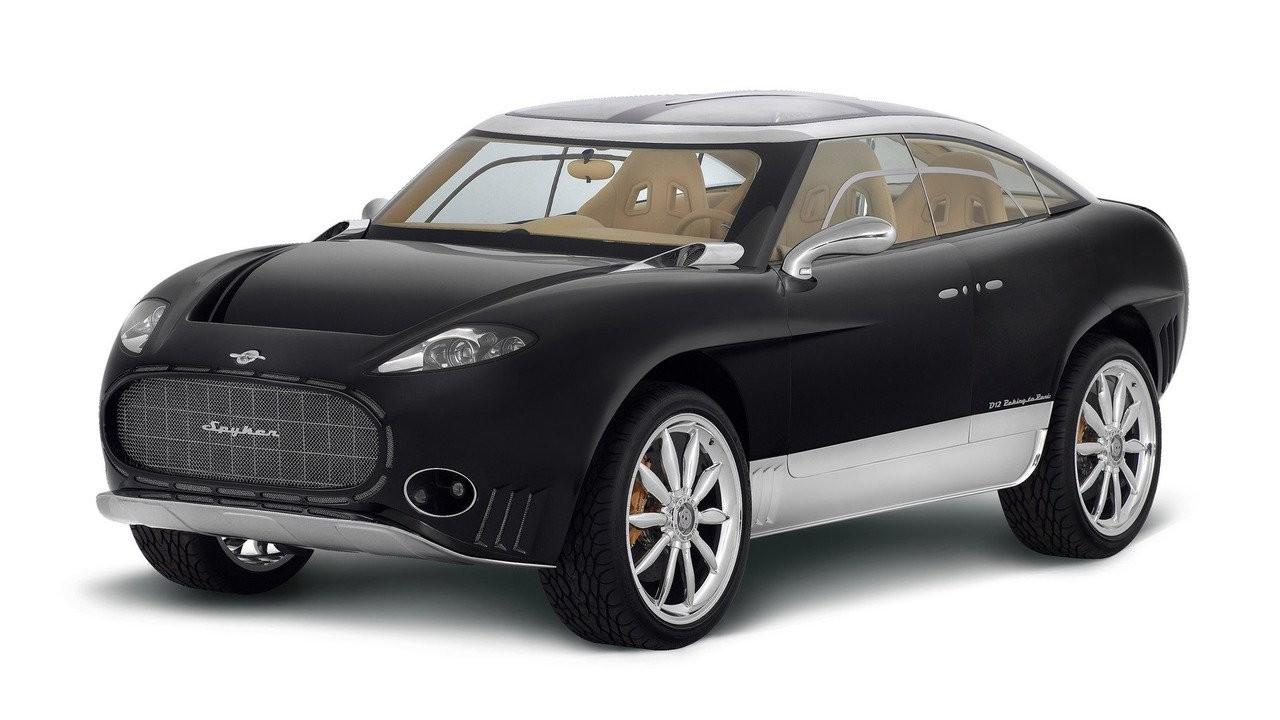 Spyker планирует выпуск очаровательного гибридного кроссовера