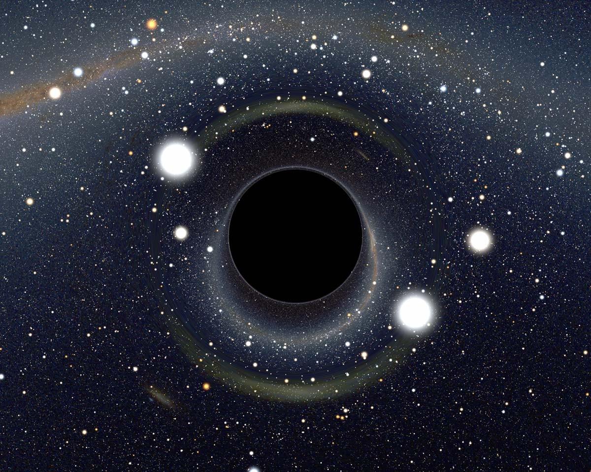 Астрономы создали телескоп размером сЗемлю для исследования свойств темных дыр