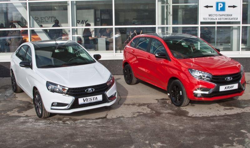 Объем продаж компании «АвтоВАЗ» натерритории РФ вначале весны вырос на13%