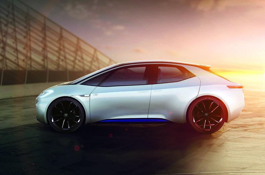 Концепт-кар VW IDпокажет будущее серийного электрического седана