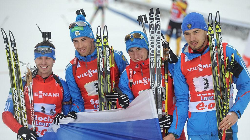 СБР утвердил состав мужской сборной РФ побиатлону