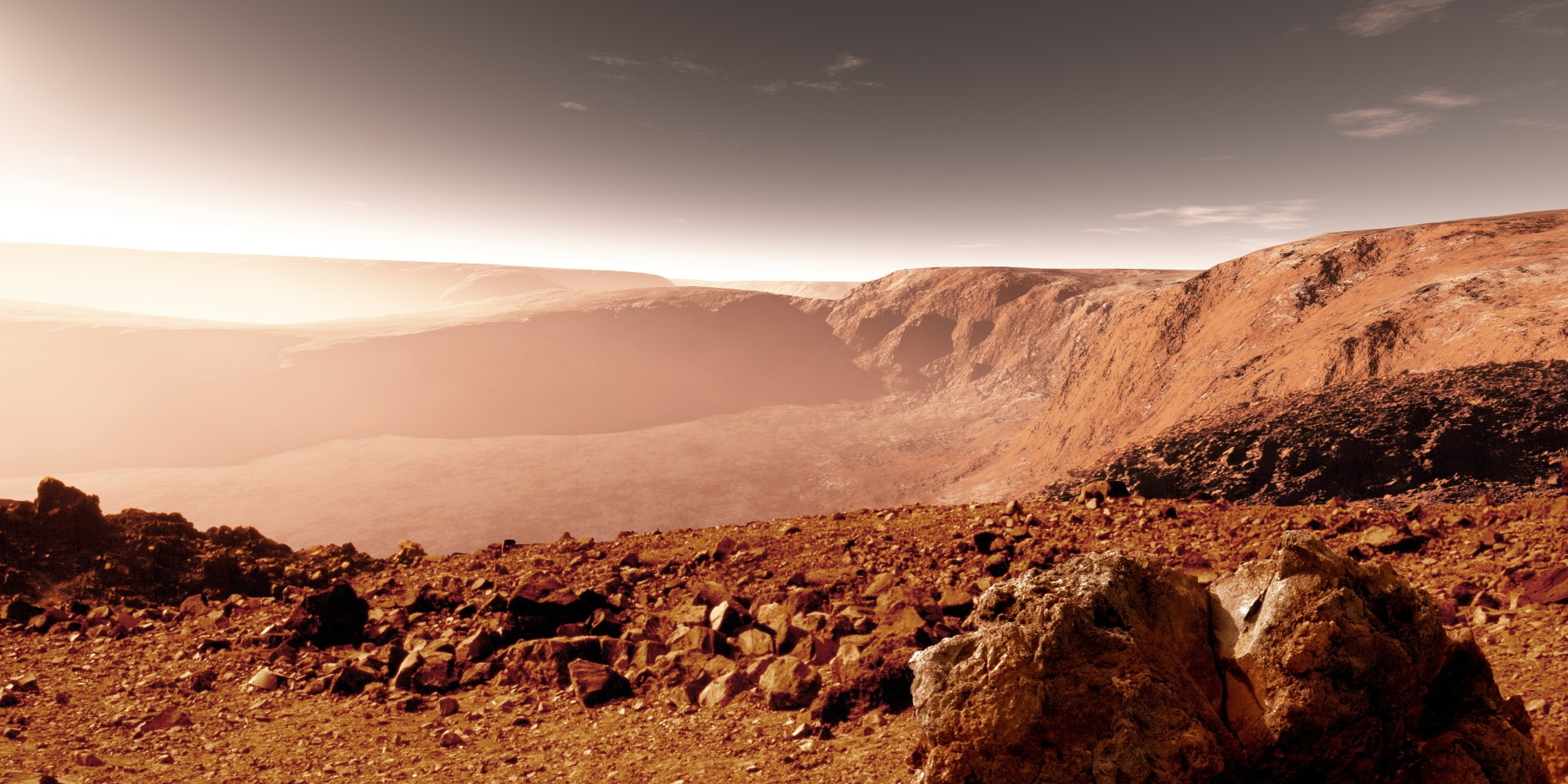 Ученые обнаружили наМарсе неповторимую  «пустыню жизни»