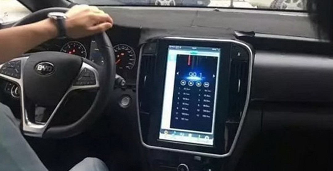 Компания BYD обнародовала дизайн-скетчи нового MPV