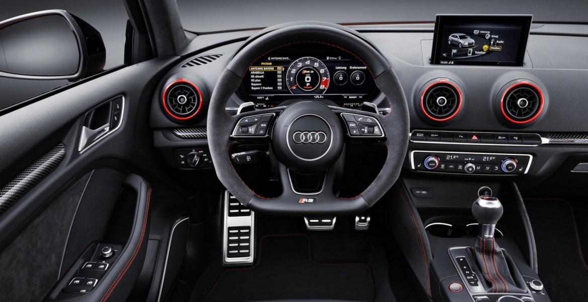 ВНью-Йорке будет представлен «заряженный» седан Ауди RS3