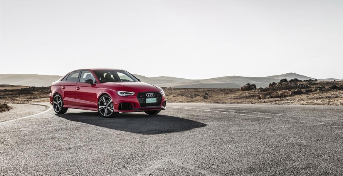 ВНью-Йорке дебютирует «заряженный» Ауди RS3 Sedan 2018