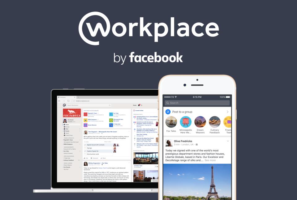 Социальная сеть Facebook запускает бесплатную версию соцсети Workplace