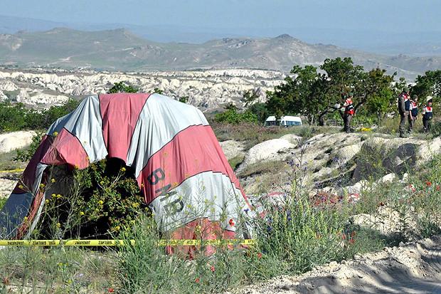 ВТурции упал воздушный шар: умер турист