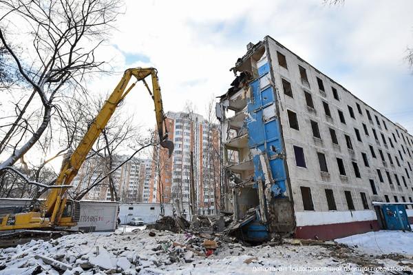 Программу посносу пятиэтажек могут распространить навсю РФ