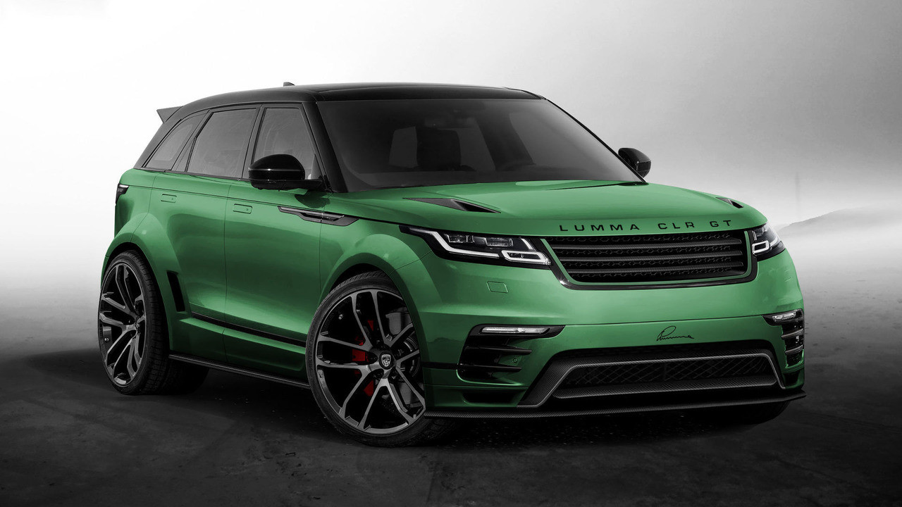 Для Range Rover Velar подготовили 1-ый тюнинг