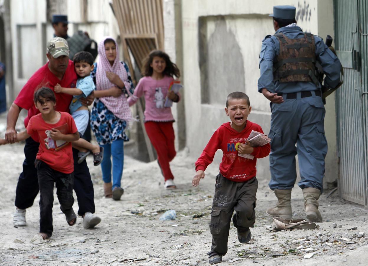 Жертвами взрыва вАфганистане стали четверо детей