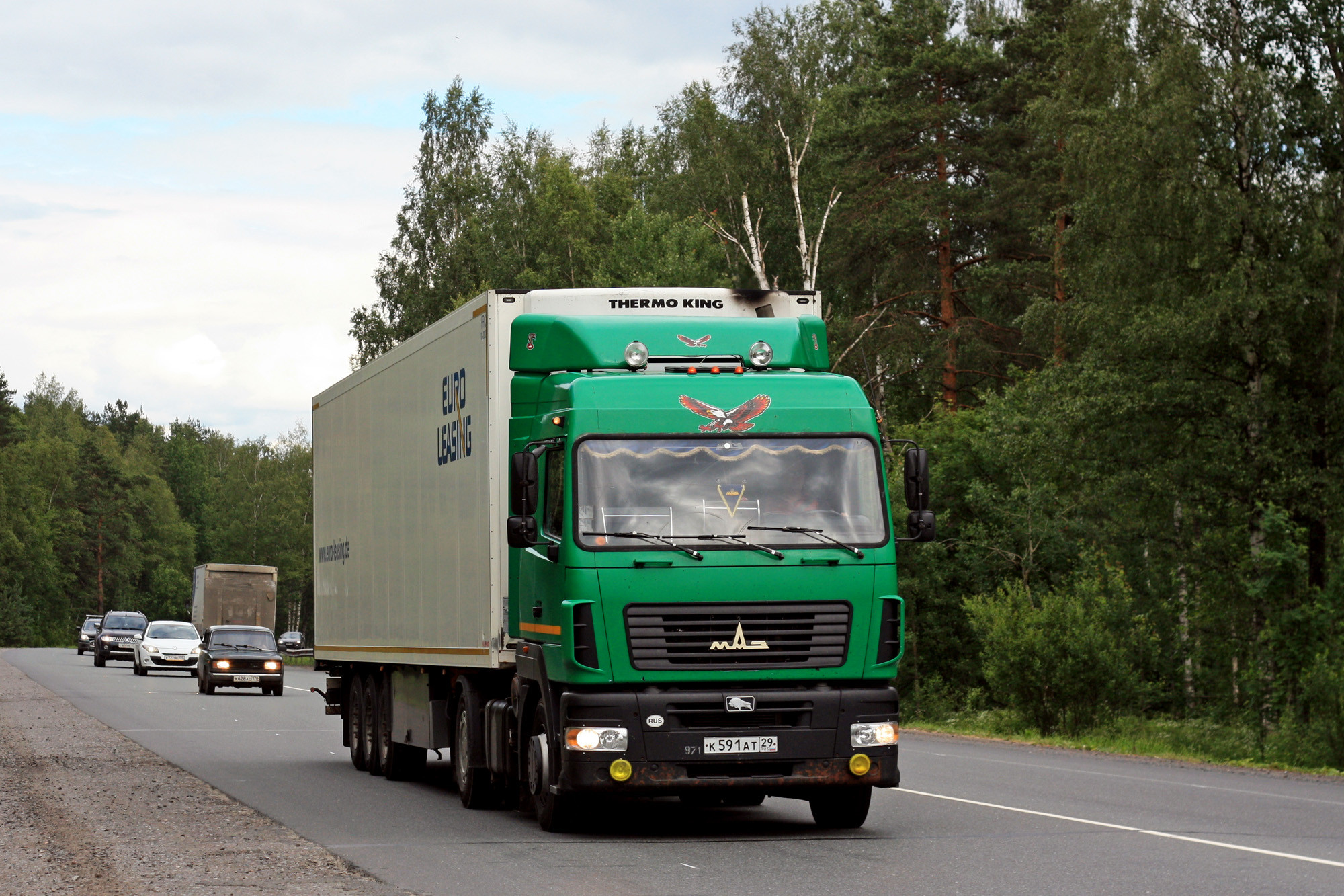 ВСамаре около «ДиПорта» фургон МАЗ насмерть сбил пенсионера