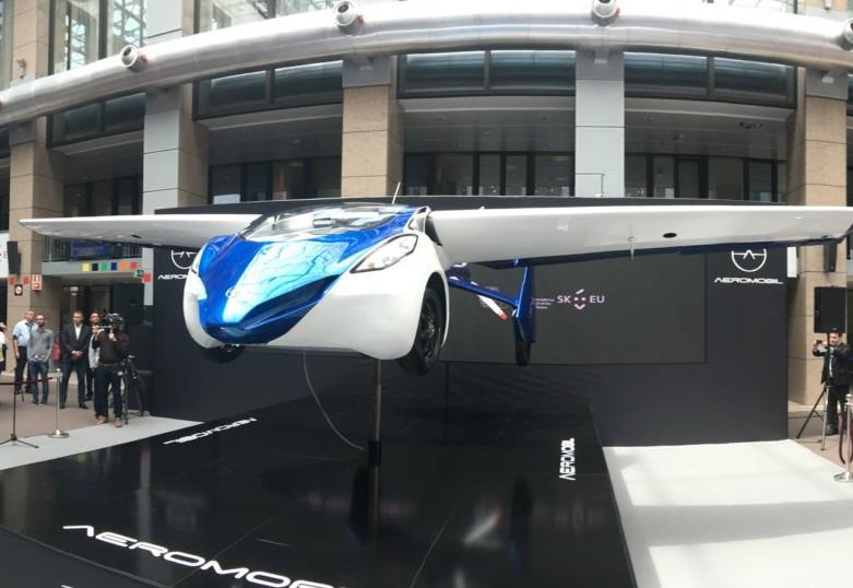В 2017 будет выпущен 1-ый летающий автомобиль