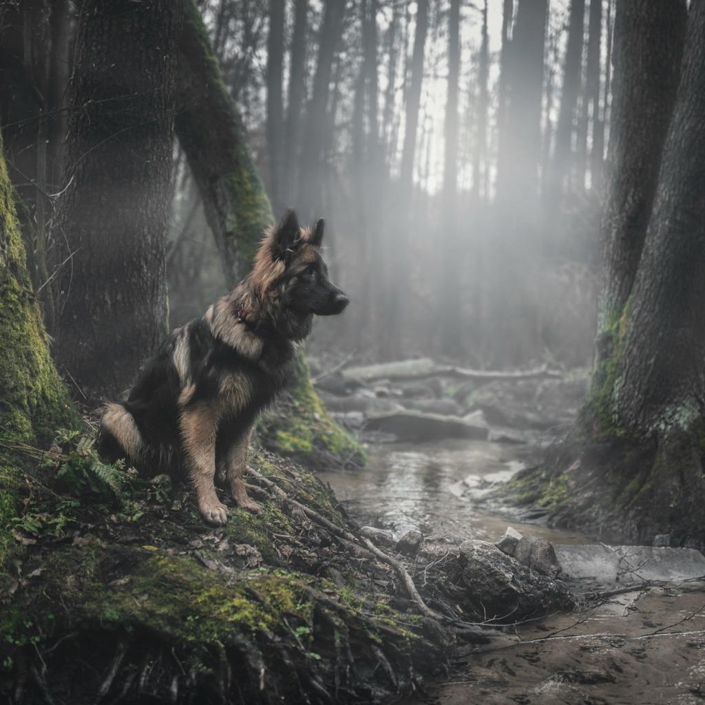 Смоляне бросили умирать собаку, привязав стальным тросом кдереву