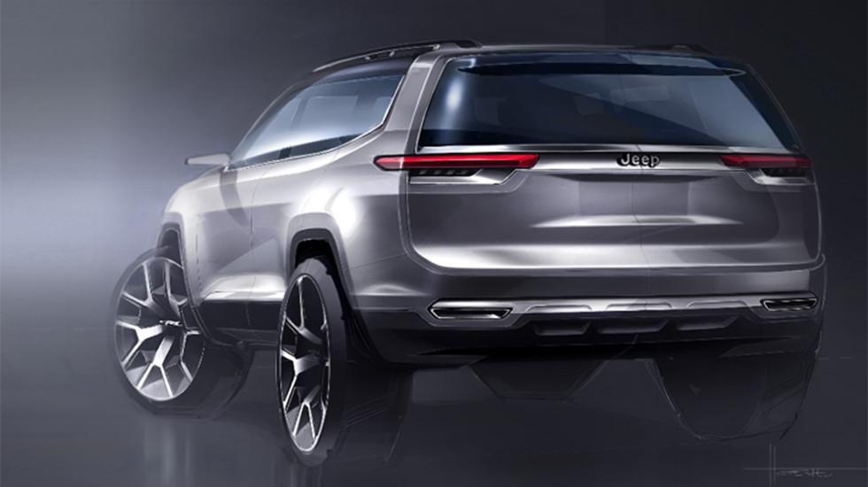 Jeep готовит кпремьере новый гибридный вседорожный автомобиль