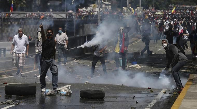 5 человек погибли впроцессе протестов вВенесуэле