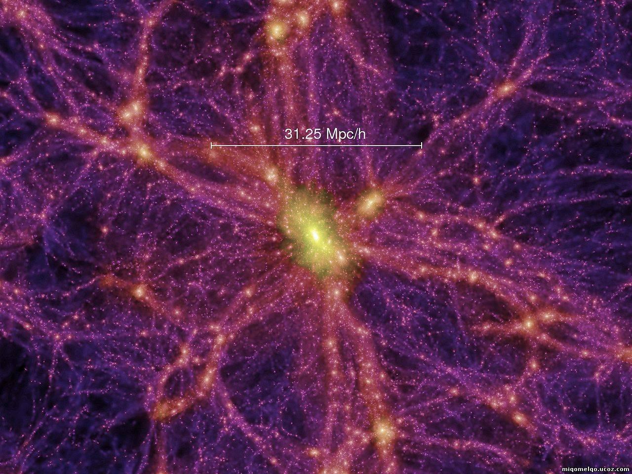Впервый раз  получено обстоятельное  изображение черной  материи