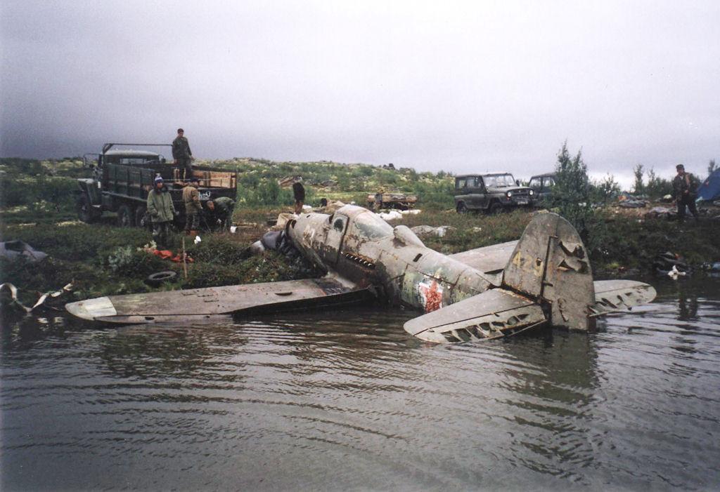В Чуприяновке нашли останки немецкого самолета времен велико.