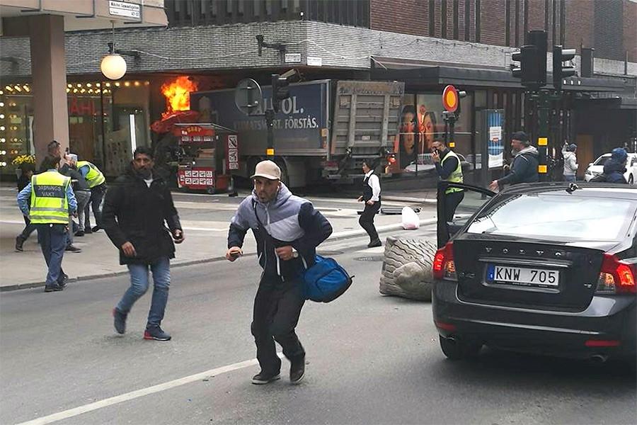 Предполагаемый исполнитель теракта вСтокгольме оказался связан сИГ
